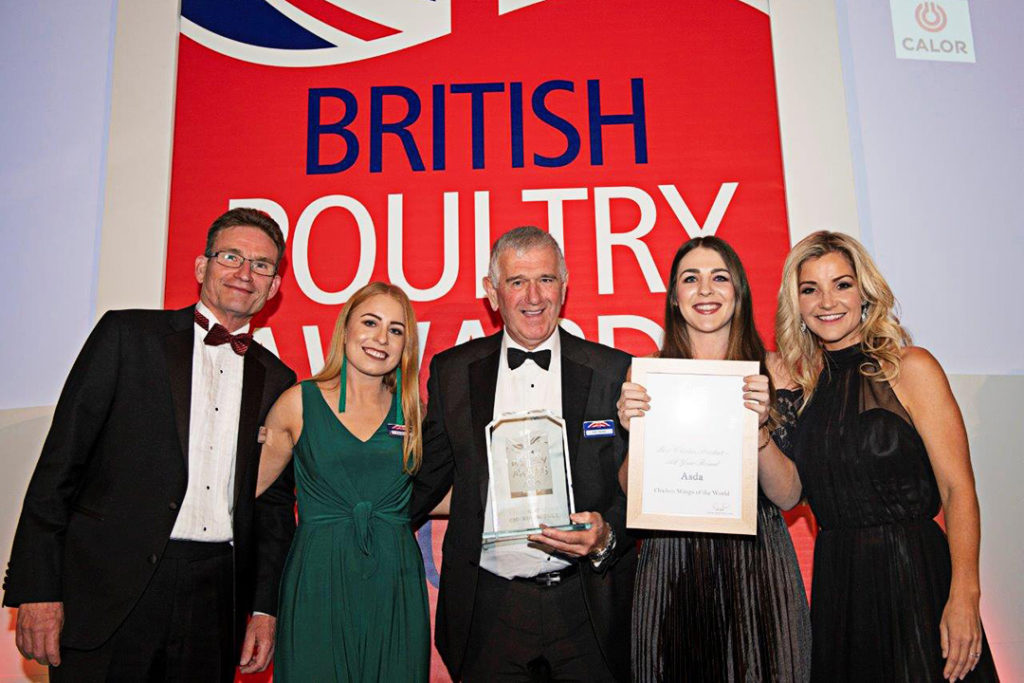 British Poultry Awards 2018 - Best Chicken Product - AYR