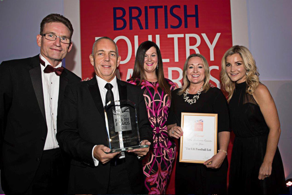 British Poultry Awards 2018 - Poultry Foodservice Operator of the Year - The UK Foodhall Ltd