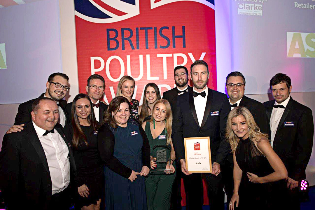 British Poultry Awards 2018 -Poultry Retailer Of Year Award - Asda